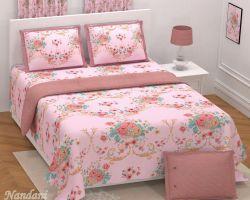 Bedsheet Royal grade cotton double bed code 1