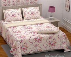 Cotton bedsheet double bed Royal grade code 2