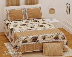 Cotton bedsheet double bed Royal grade code 4