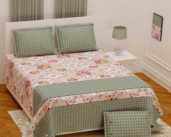 Cotton bedsheet double bed Royal grade code 5