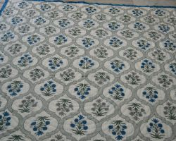 Handblock printed jaipuri quilt jaipuri rajai handblock Royal 2