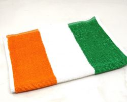 Tiranga towel tricolor  hand towel set of 3