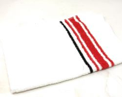 White hand towel set of 3