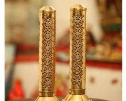 Agarbatti stand brass incense holder