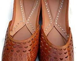 Jaipuri juti mojari handmade leather juti for women