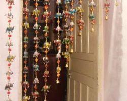 Door hanging set elephant door hanging set