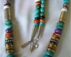Stone beads necklace multicolor stone necklace