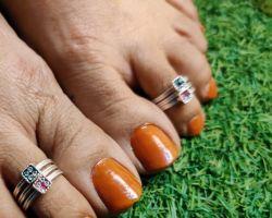 Toe ring silver bichhiya chandi ka A