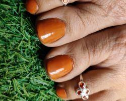 Bichhiya silver toe ring meena B