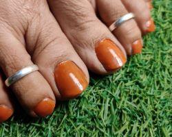 Silver toe ring plane chandi ki bichhiya