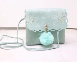 Handbag beautiful sea green handbag
