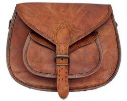 Handmade camel leather bag pure camel leather bag dharohar