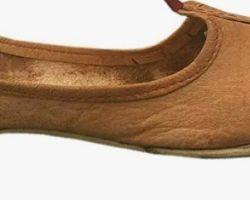 Camel leather juti handmade leather juti  bikaner