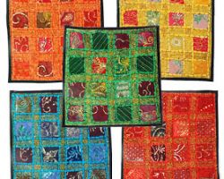 Handmade cussion cover  multicolour cussion cover set