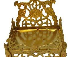 Brass singhasan for idol peetal ka singhasan code 2