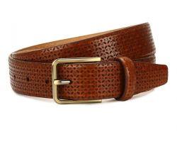 Belt camel leather for ment crust