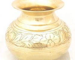 Peetal ka lota brass lota  brass kalash 500ml capacity