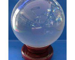 Sphatik ball natural crystal ball big 500gm