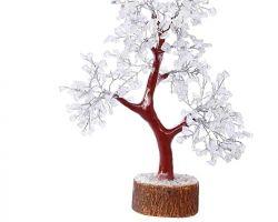 Crystal tree sphatik tree sfatik tree reiki healing tree for prosperity 9 inches