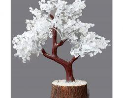 Sphatik tree crystal tree for prosperity sfatik tree 18 inches
