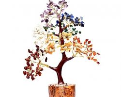 7 stone tree reiki healing seven stone tree for good luck 7 inches