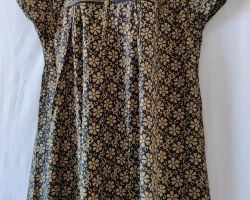 Pure cotton nighty gown jaipur block print cotton maxi code 2