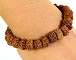 7 mukhi rudraksha bracelet 7 face rudraksha bracelet 21 beads