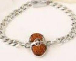 1mukhi rudraksh silver bracelet one face rudraksh silver bracelet ek mukhi rudraksh with silver bracelet