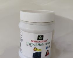 Herbal hair colour black