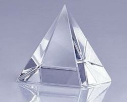 Crystal Pyramid sphatik Piramid sfatik piramid