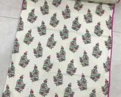 Dohar AC quilt double bed cotton pink flower