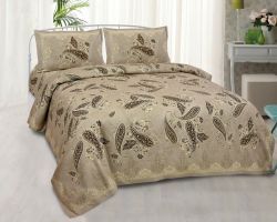 Bedsheet Cotton double bed bedsheet with pillow mist
