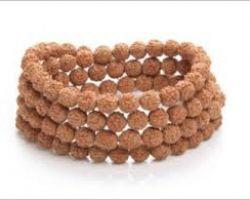 Rudraksh bracelet 4 line rudraksha bracelet