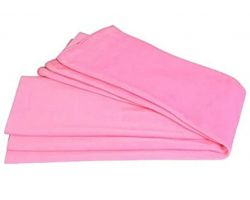 Plain cotton cloth material pink pure cotton cloth material 2.5 meter