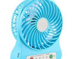 Laddu gopal fan electric cum battery