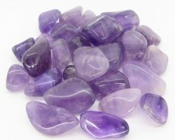 Amethyst stone tumbled natural amethyst stone pebbles 100gm