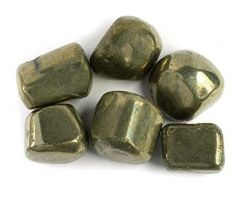 Pyrite stone tumbled natural pyrite tumble 100gm