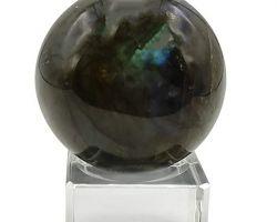 Labradorite ball natural Labradorite stone ball 55gm