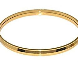 Brass kada punjabi brass metal kada lines design