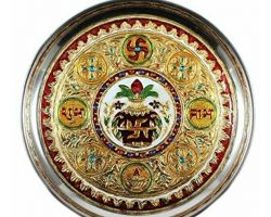 Decorative plate for wedding Pooja or function 6 inches