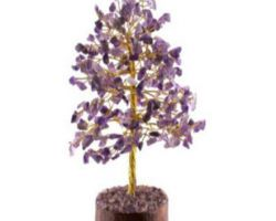 Amethyst stone tree natural amethyst tree 15 inches