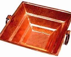 Hawan kund copper 15×15 inches