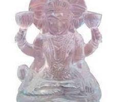 Sphatik laxmi idol pure sfatik laxmi murti 2 inches 51gm