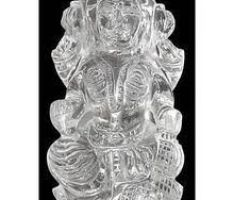 Sphatik laxmi idol pure sfatik laxmi ji murti 2.5 inches 65gm