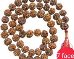 7 face rudraksh mala 7 mukhi rudraksha mala 54 beads
