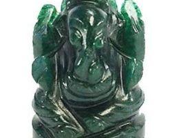 Panna ganesh Emerald ganesh idol