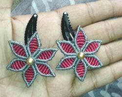 Handmade hairpin handmade thread hairpin set of 2