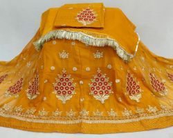 Rajputi dress rajputi poshak half pure with astar magji  code 2