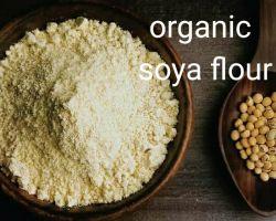 Soya flour organic soyabean flour soya aata