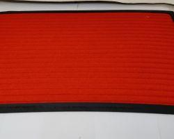 Doormat red colour doormat 24×15 inches